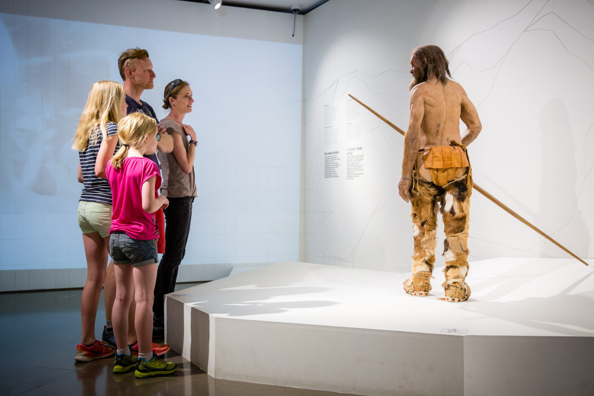 Visit Ötzi in the South Tyrolean Museum of Archaeology in Bolzano