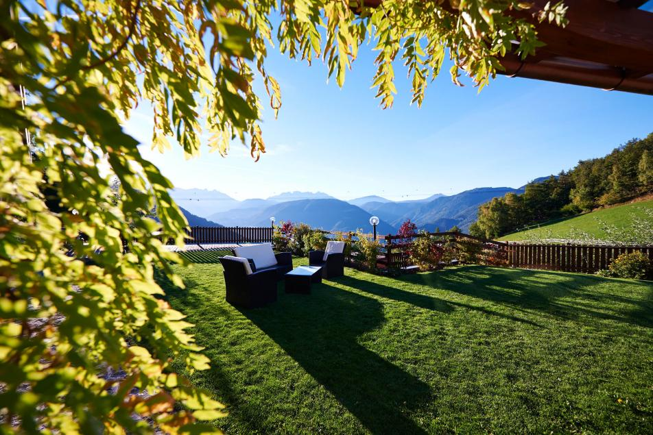 Nature Hotel South Tyrol Garden Romantic Mountain Landscape Dolomites