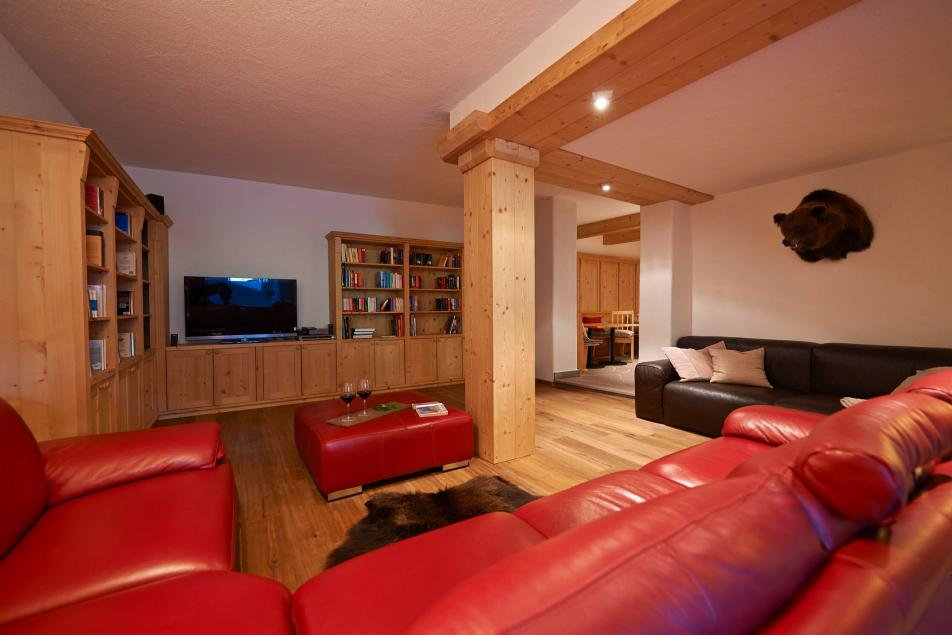 Gourmet Restaurant Alpine Livingroom Relax with Wine