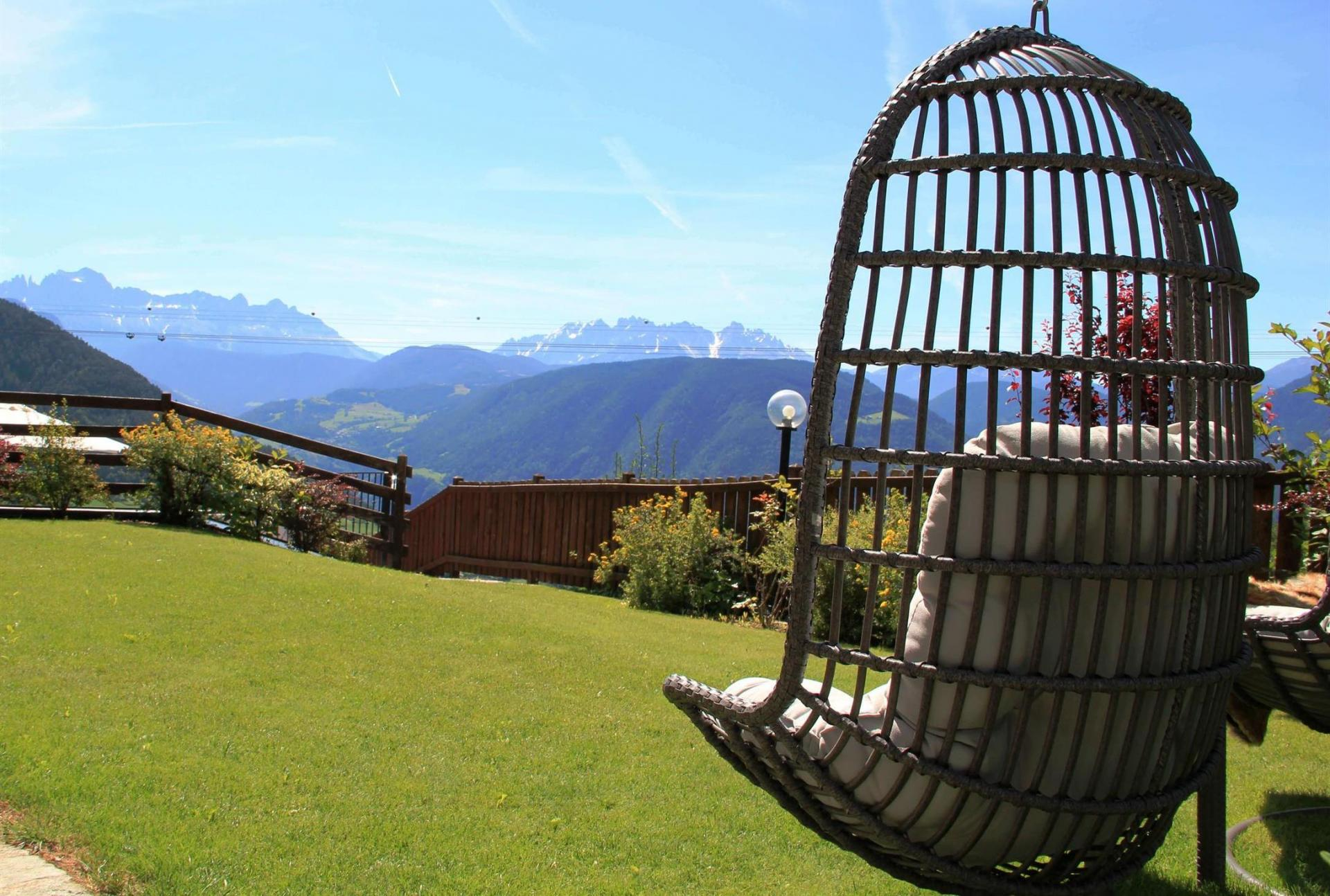 Chalet South Tyrol with Panorama Dolomites Nature Remote Location