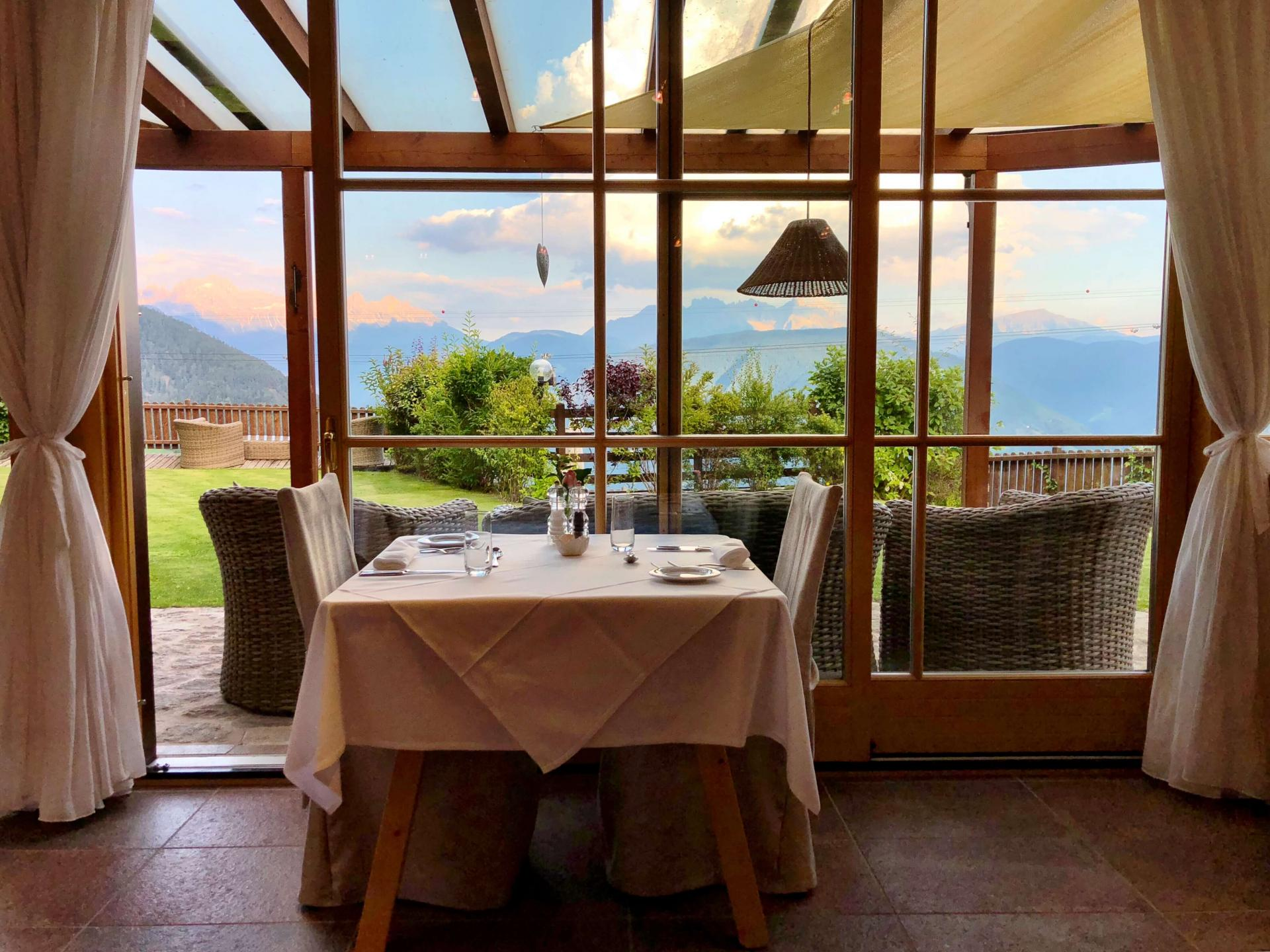 Alpine Lodge with Culinary Delights in the Panorama Restaurant with private Chef Cook