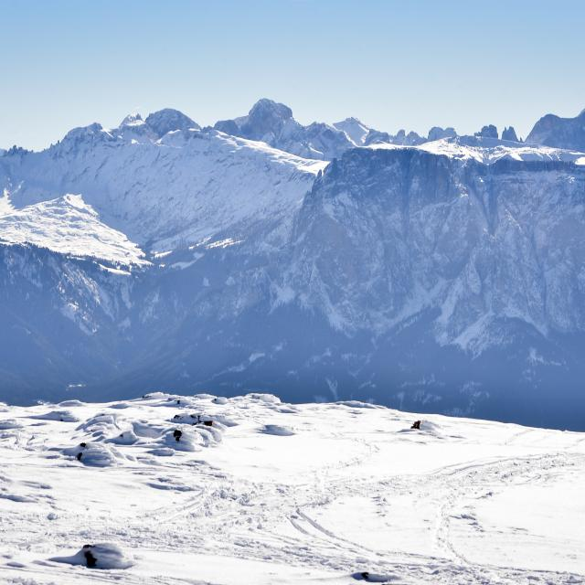 Christams Holidays with a fantastic view on the snowy Dolomites in South TYrol