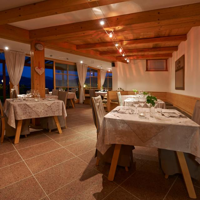 Gourmet Restaurant with alpine cuisine and international specialities
