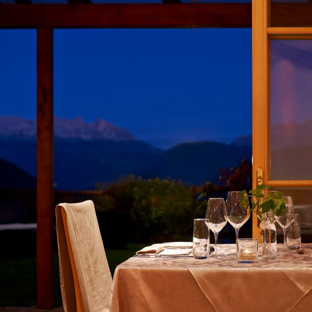 Mountain Restaurant with Dolomites Panorama and exquisite cuisine