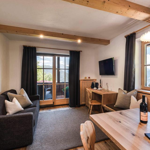 Dolomites Suite living room